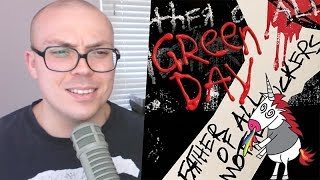 "Gambar cover Green Day - ""Father of All..."" TRACK REVIEW 