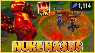 *1,000+ AP NUKES* THEY DON'T LAST A SECOND (SEASON 11 BREAKS NASUS) - BunnyFuFuu | League of Legends
