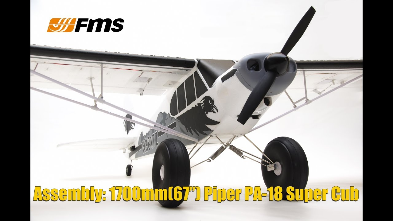 Plane 1700mm PA-18 Super Cub PNP kit