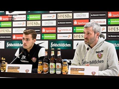 29. Spieltag   FSV - SGD   Pressekonferenz vor dem Spiel