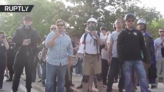 Alt-right's Richard Spencer met with protest at Auburn University