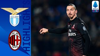 Lazio 0-3 Milan | Zlatan and Milan CRUSH Lazio's title hopes! | Serie A TIM