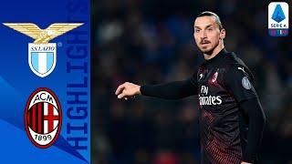 Lazio 0-3 Milan | Zlatan And Milan Crush Lazio's Title Hopes! | Serie A Tim