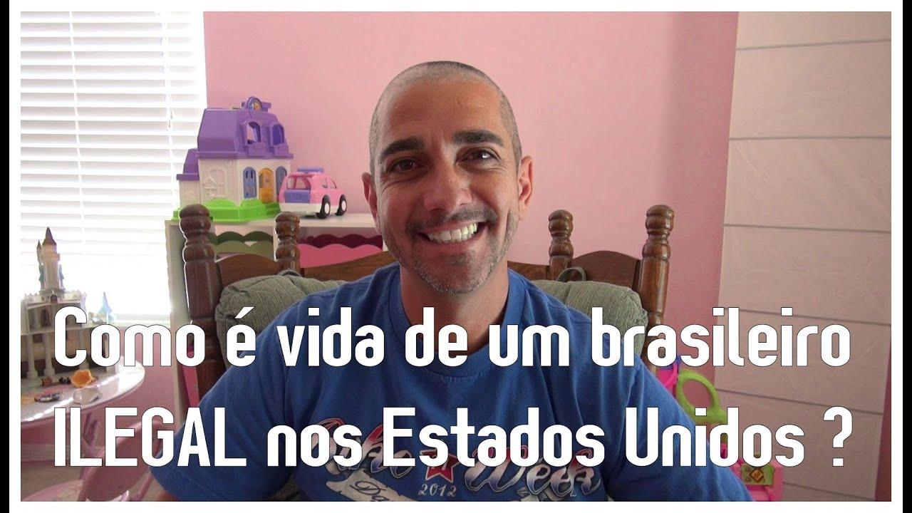 Fazer Artesanato Facil Para Vender ~ Comoé vida de um brasileiro ILEGAL nos Estados Unidos ? YouTube