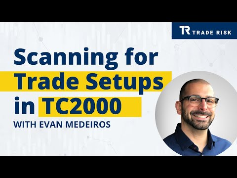 Scanning for Swing Trade Setups in TC2000 - The Trade Risk