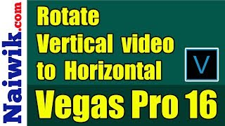 In this tutorial You can see how to quick/rapid rotate Your video. Watch this video and You will nee.