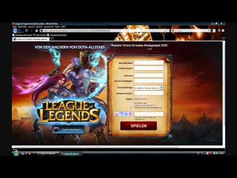 [HowTo]League Of Legends Download And Register