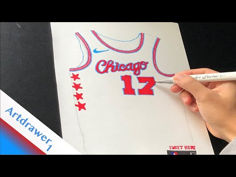 timeless design fa756 0eaaf Drawing the Chicago Bulls' 2017-18