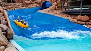 River Rafting Ride at Skara Sommarland Water Park