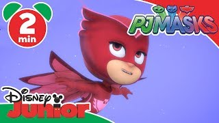 PJ Masks | Sneak Peek: Owlette's Flight School | Disney Junior UK
