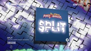 Natural Born Power Rangers - Split (Official Music Video Teaser) (HD) (HQ)