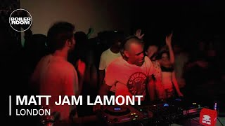 Matt Jam Lamont Boiler Room x RBMA Mix