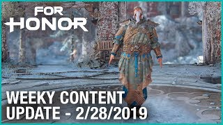 For Honor: New Penguin Walk Emote | Week 02/28/2019 | Weekly Content Update | Ubisoft [NA]