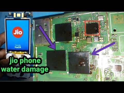 jio phone water damage dead solution||lyf f10q dead solution