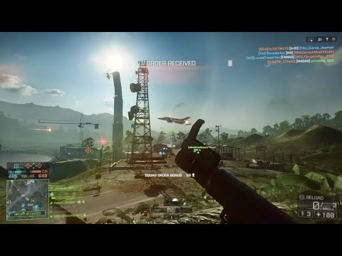 Battlefield 4 Montage 4 (Epic RPG Jet Kill, RPG Vs Helis And Funny Moments)