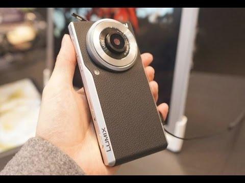 SIMフリーカメラ Panasonic LUMIX CM1 スマホとデジカメ表裏一体