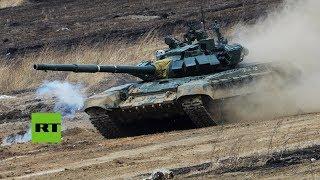 Biatlón de tanques: Comienzan los Juegos Militares Army 2018 en Rusia