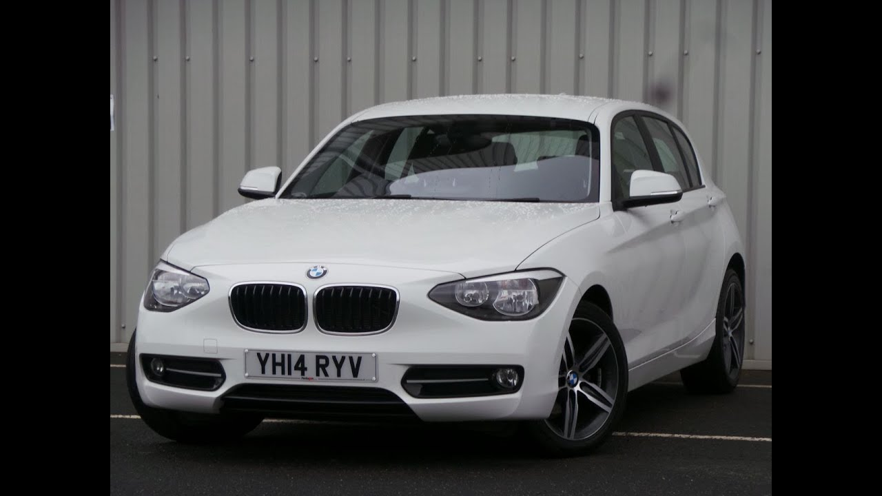 2014 14 Bmw 1 Series 116i Sport 5dr In White Youtube