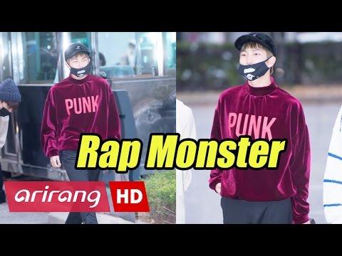 Showbiz Korea _ LEE Soo-hyuk(이수혁), Rap Monster(랩몬스터) of BTS _ Velvet