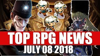 Top RPG News of the Week - July 8 2018 (Code Vein, We Happy Few, Moonlighter)