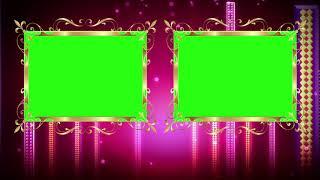 Hochzeit Mischen von Video-Frame Mit Rosa Hintergrund || DMX-HD-BG 265