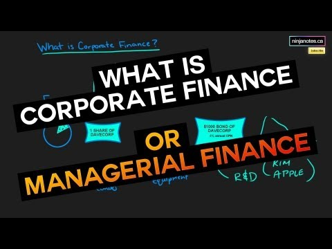 What is Corporate Finance? (Corporate Finance Series)