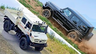 Mercedes G Wagon meets Unimog – Best Off Road Vehicles 2019