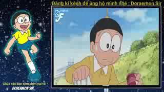 Doremon tiếng Việt ► Papa, Nobita và con sông có sake bơi lội & Kèn xua đuổi   Doraemon 2016