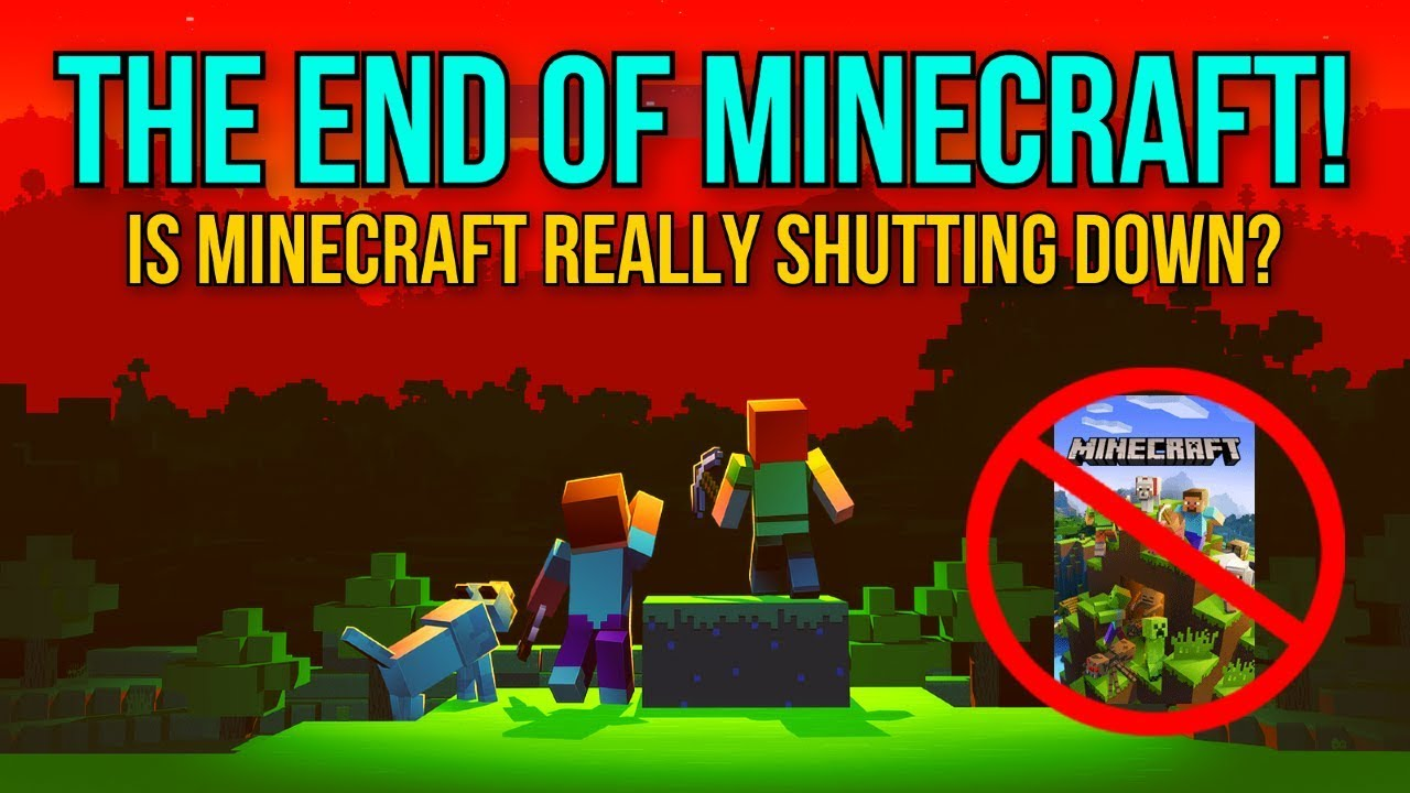 Minecraft IS SHUTTING DOWN IN 12 - Is Minecraft Really Shutting Down? -  Mojang responds!