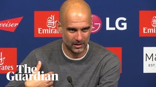 Pep Guardiola furious over financial fair play question after Man City's treble triumph