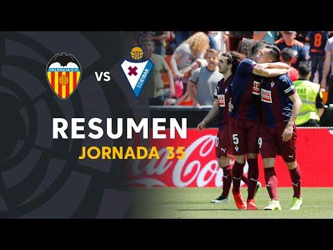 Resumen de Valencia CF vs SD Eibar (0-1)