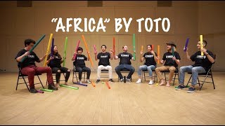 Africa by Toto on Boomwhackers! Video