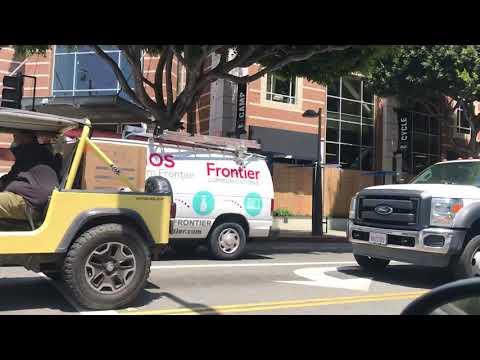 Santa Monica post looting. June 2020