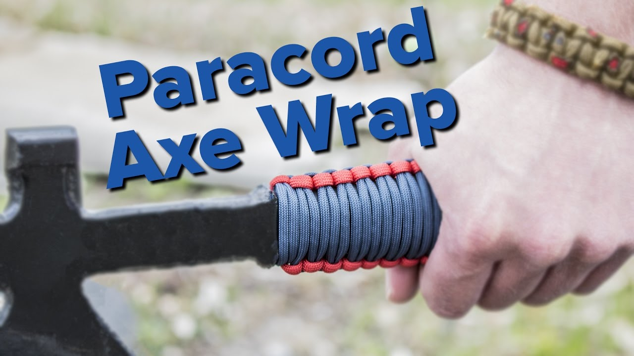 How to make a paracord handle wrap youtube for What can you make out of paracord