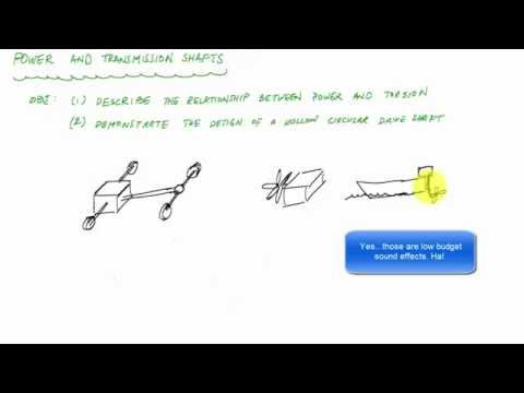 Power and Torsion Introduction (1/2) - Mechanics of Materials