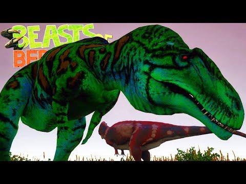 Beasts of Bermuda - Mosassauro Maldito, Acrocanthosaurus e Elasmosaurus! | (#4) (Gameplay/PT-BR)