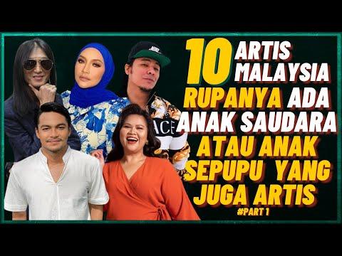 10 Artis Malaysia Rupanya Ada Anak Saudara atau Anak Sepupu Di Kalangan Artis (Syafiq Kyle, Zamani)