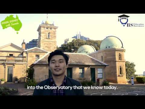 Inside Sydney with Samdu: The Sydney Observatory
