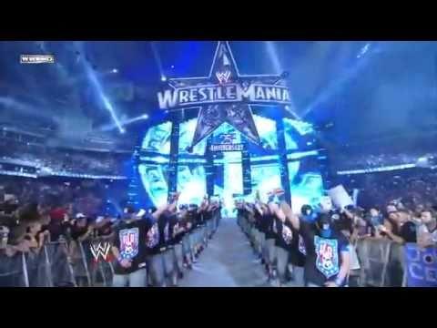 Wrestlemania 25 John Cena vs Big Show vs Edge Part 1/3 (HQ)