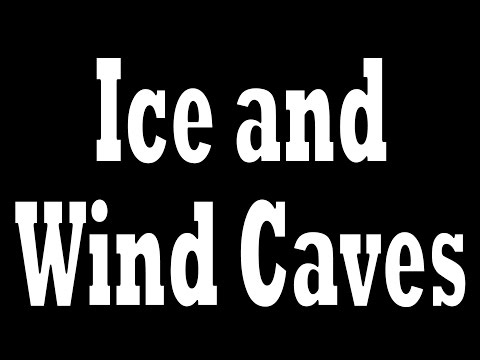Ice and Wind Caves Mount Fuji Japan