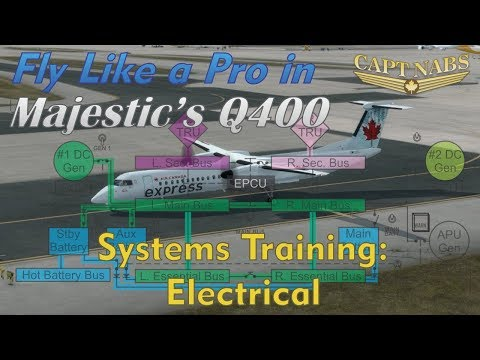 Majestic Q400 Systems Training: Electrical (Fly Like A Pro)
