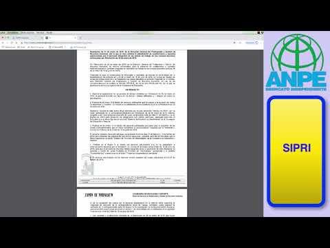 ANPE te explica el funcionamiento del portal SIPRI