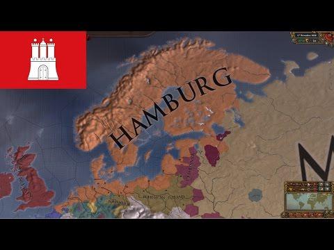EU4 - Timelapse - Hamburg Merchant Empire [Ironman]