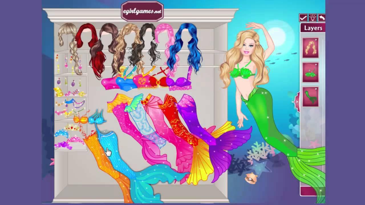 Mermaid Dress Up Games For Girls | All Dress