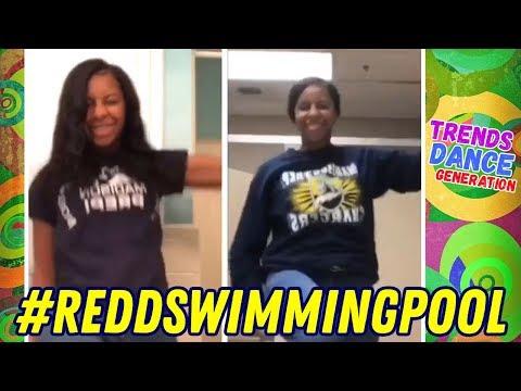 Swimming Pool Challenge Dance Compilation 🔥 #reddswimmingpool