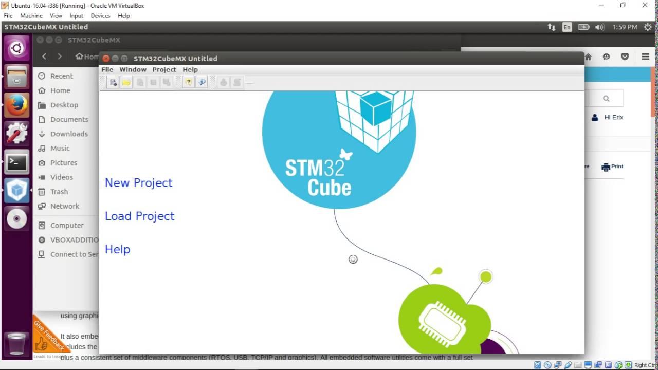 Install STM32CubeMX on Ubuntu Linux