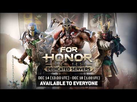 For Honor Dedicated Servers Open Test Begins Today - Daily News