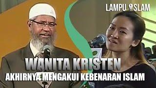 Video Wanita Kristen Akhirnya Mengakui Kebenaran Islam | Dr. Zakir Naik UMY Yogya 2017 download MP3, 3GP, MP4, WEBM, AVI, FLV April 2017