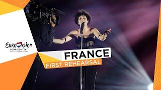 Barbara Pravi - Voilà - First Rehearsal - France 🇫🇷 - Eurovision 2021