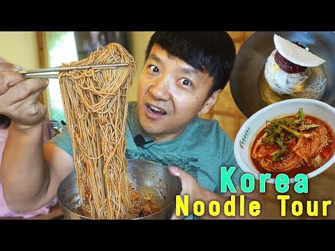 TRADITIONAL Korean Noodle Tour In South Korea